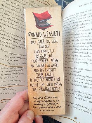 Howler Bookmark