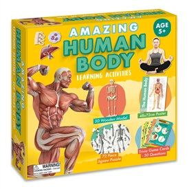 Amazing Human Body Activity Set