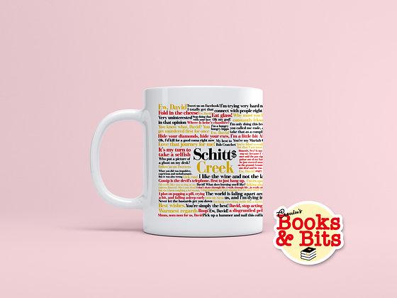 Schitt's Creek Quotes Ceramic Mug