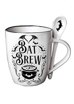 Bat Brew Mug & Spoon
