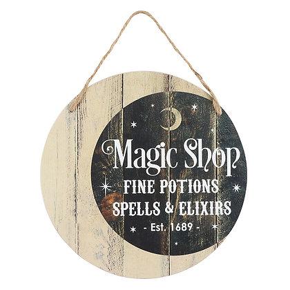 Magic Shop Hanging Plaque