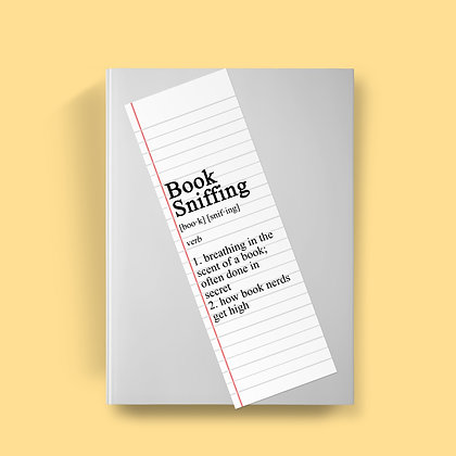 Book Sniffing Definition Bookmark