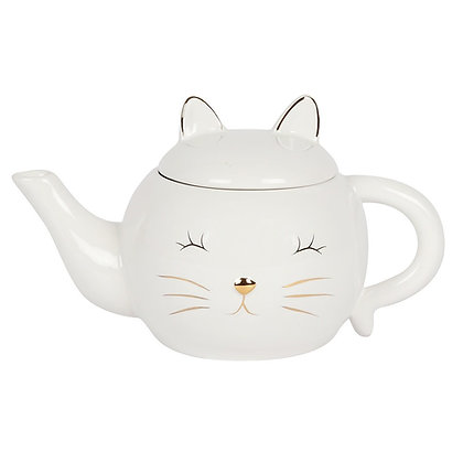 Cat Face Teapot
