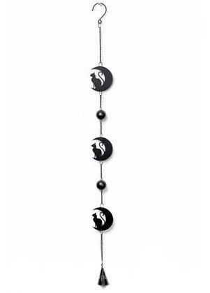 Cat & Moon Hanging Decoration
