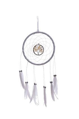 Tree of Life Dreamcatcher - White