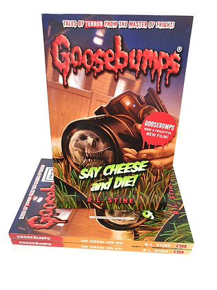 Goosebumps Say Cheese and Die! - R. L. Stine
