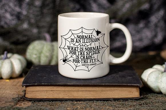 Morticia Quote Ceramic Mug