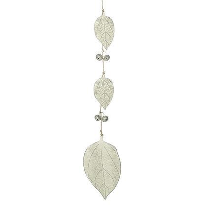 Metal Leaf Garland