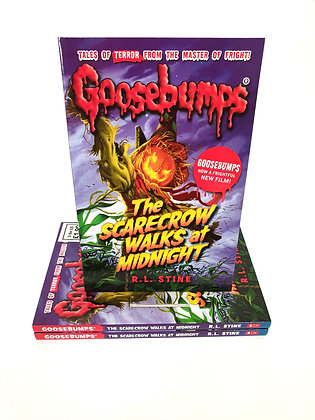 Goosebumps The Scarecrow Walks at Midnight - R.L.Stine