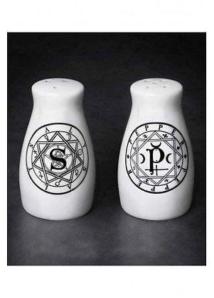 Circle Symbol Salt & Pepper Set
