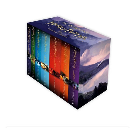 Harry Potter Full 7 Books Box Set Collection by J K Rowling - Paperbacks