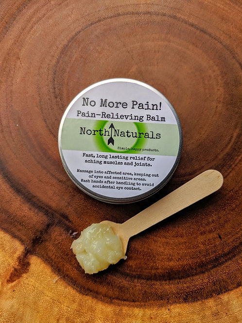 No More Pain! Pain-Relieving Balm
