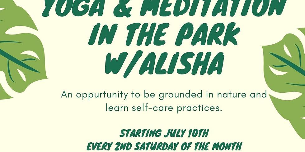Yoga & Meditation in the park