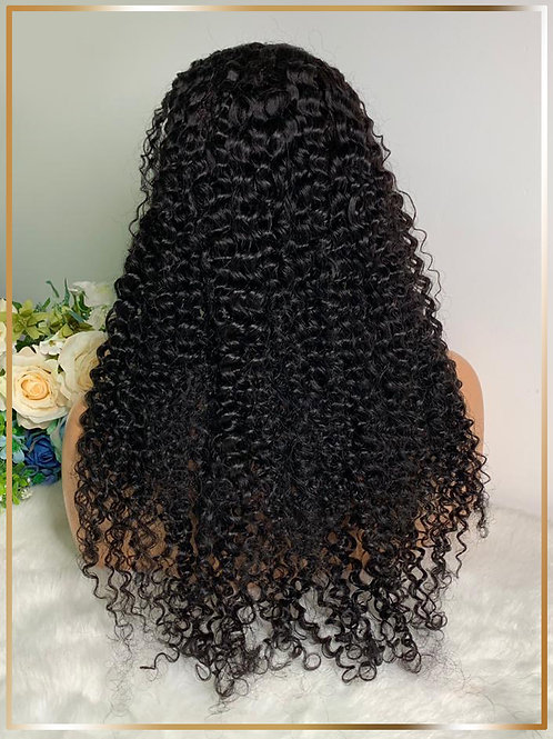 Depp Curly Lace Front Wig