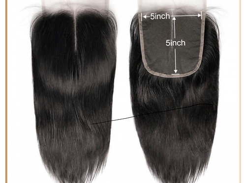 Straight Lace Mini Frontal 5 x 5""