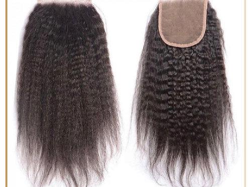 "Kinky Straight Lace Mini Frontal 5 x 5"""