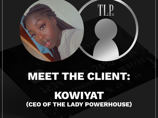 MEET THE CLIENT: THE LADY POWERHOUSE!