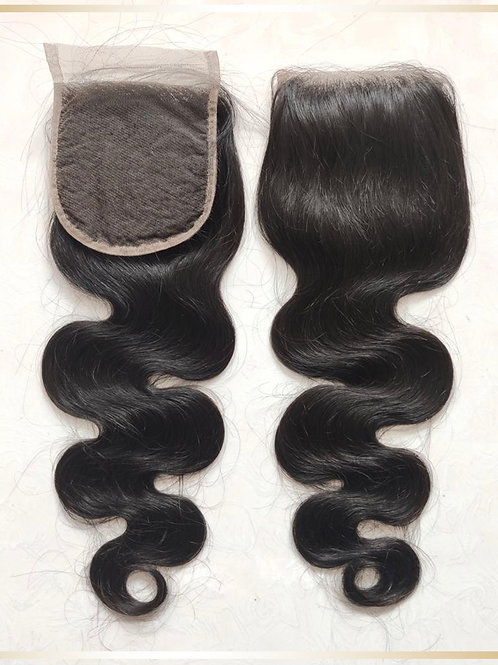 Body Wave Lace Closure 4 x 4""