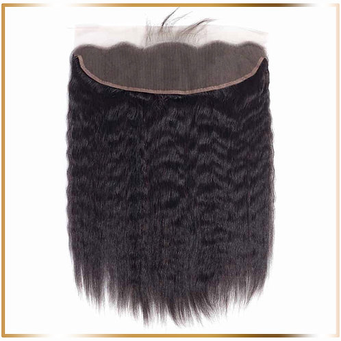 Kinky Straight Lace Frontal 13 x 4""