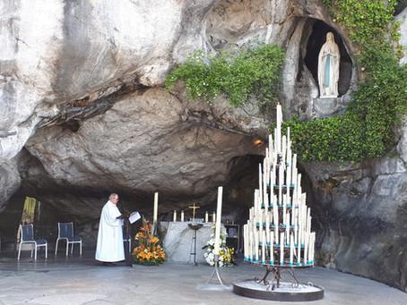Pèlerinage à Lourdes, vivez-le à la maison