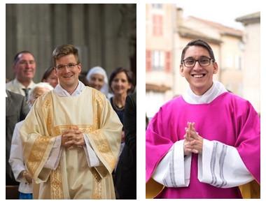 Dimanche 28 juin, 2 nouveaux prêtres pour notre diocèse