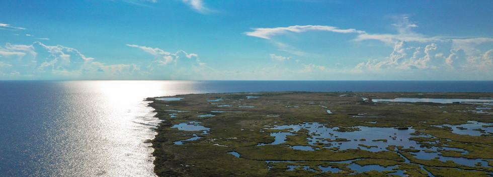 Aerial Footage of Wetlands