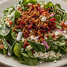 Betta Feta Spinach Salad
