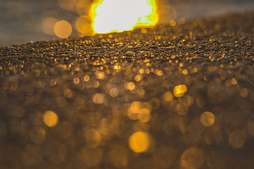 Abstract Gold Texture Image