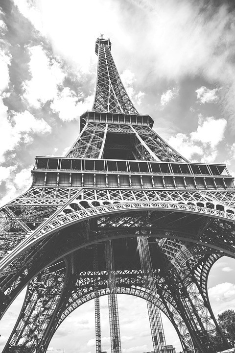 Eiffel Tower vertical picture