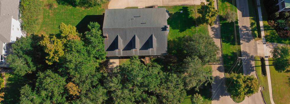 Aerial Footage of Neighborhood Home