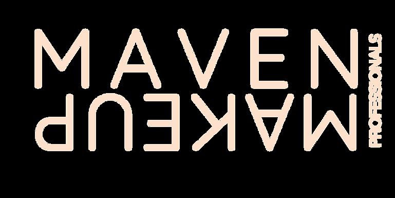 Maven Makeup Mirror Image Logo - Peach[5