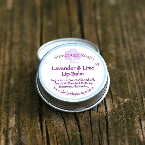 Lavender & Lime Lip Balm