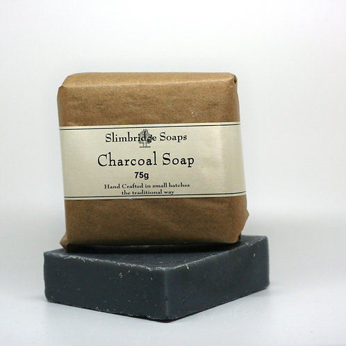 Activated Charcoal Soap and packaging