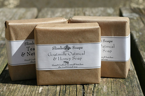 Choose Your own triple pack of natural soaps