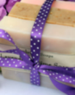 Picture of natural handmade soaps