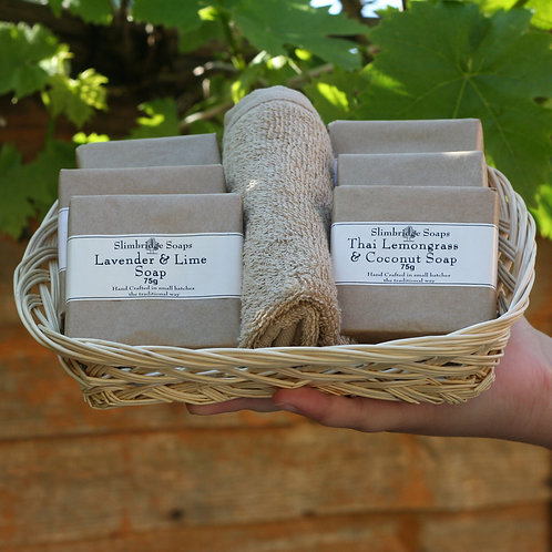Soap Gift Basket
