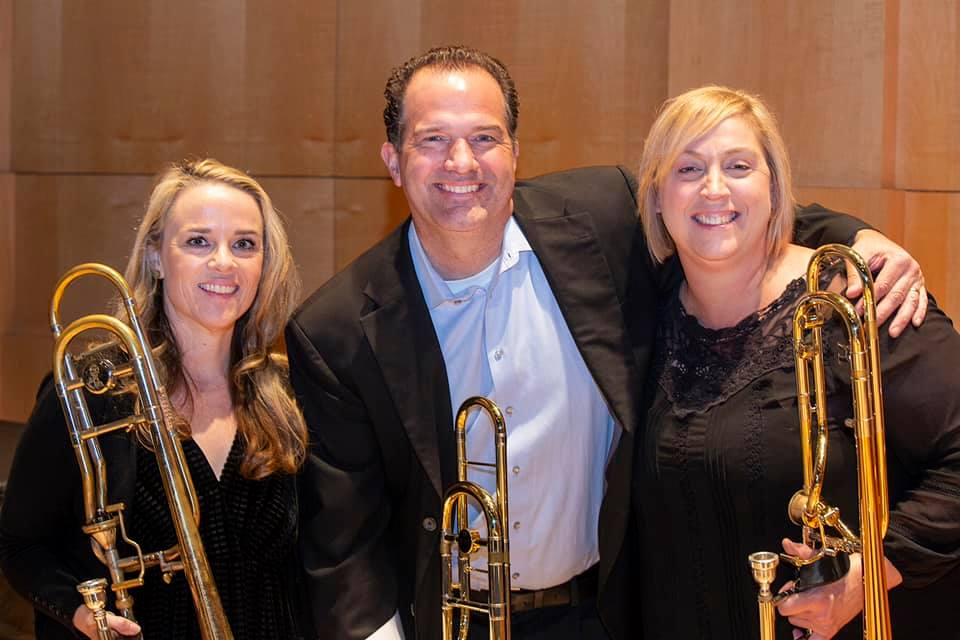 fun performing with Amy Bowers and Karen Marston