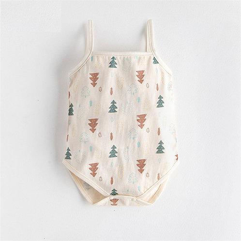 Pine Tree Tank Sunsuit