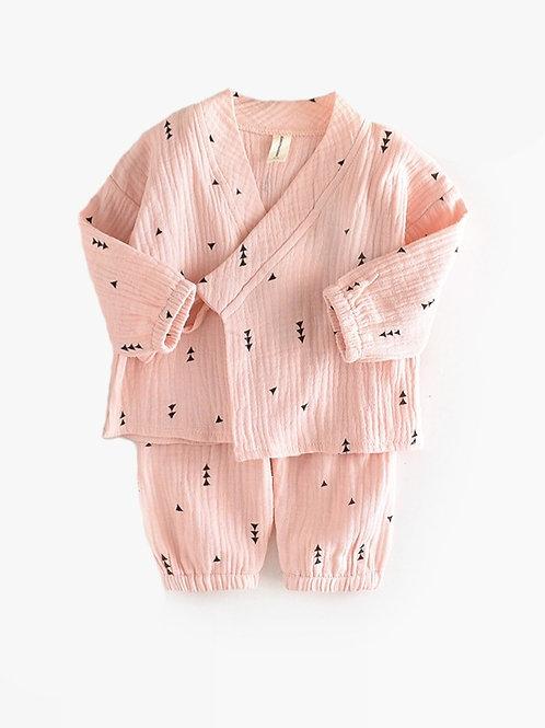 Pink Pine Tree Pajamas