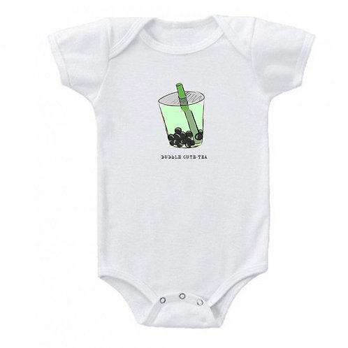 Bubble Cute-Tea Bamboo Onesie