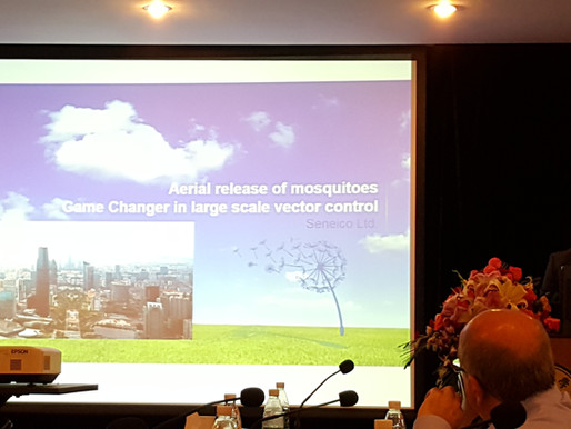 Senecio presents in Guangzhou, China