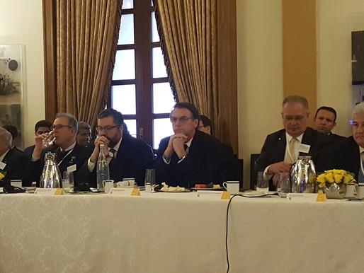 Senecio presents Mr. Jair Bolsonaro president of Brazil its AI technology
