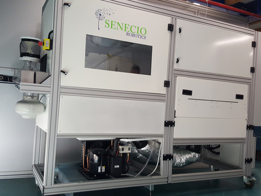Senecio Robotics has shipped an AI based robotic machine to an international partner