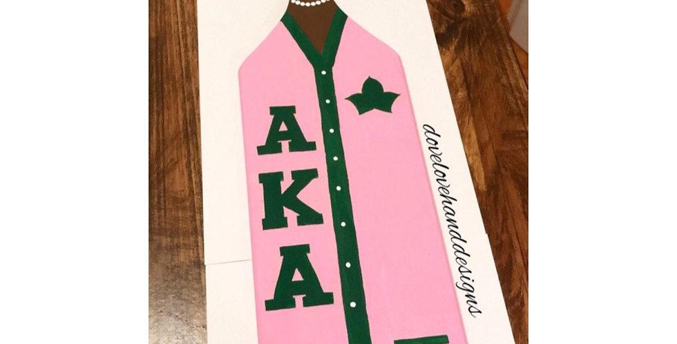 Alpha Kappa Alpha Paddle