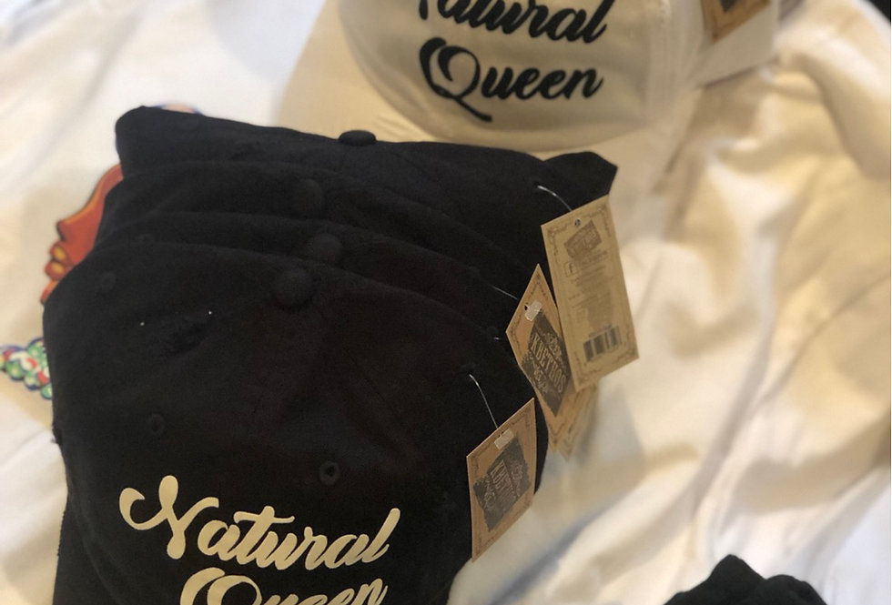 Natural Queen Cap