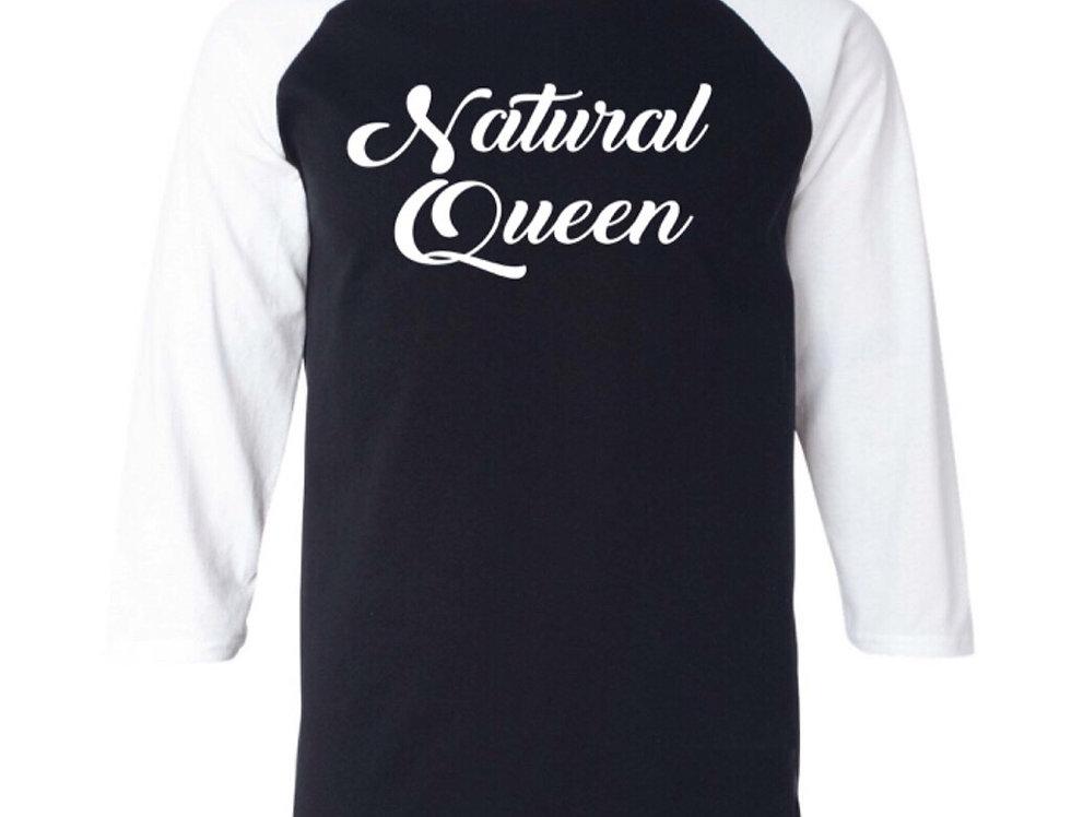 Natural Queen Tee