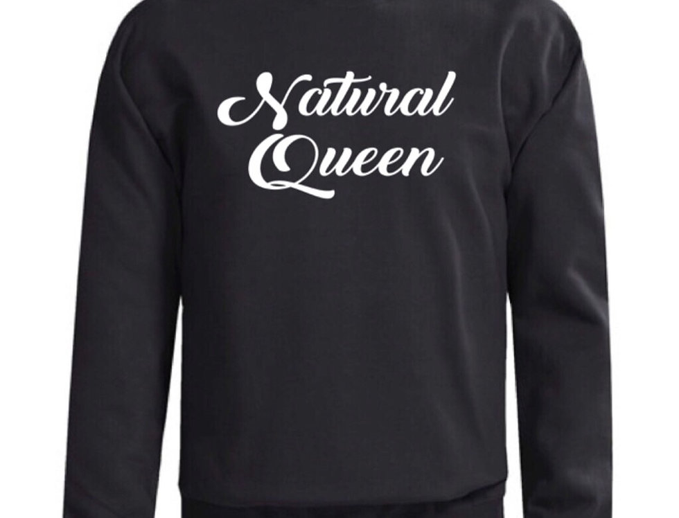 Natural Queen Sweatshirt