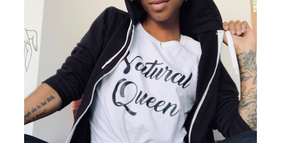Natural Queen Tee - Short Sleeve