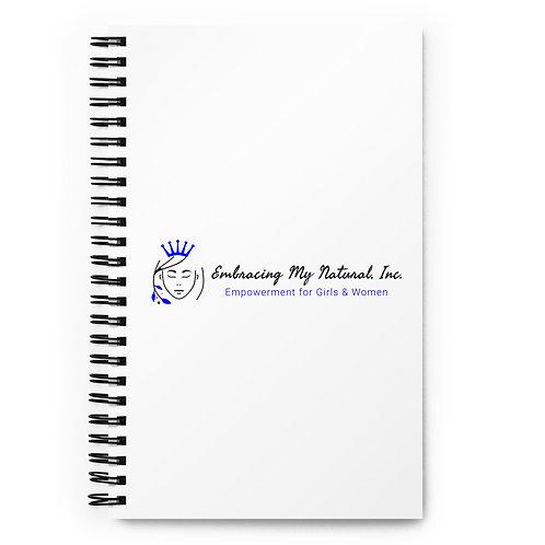 Embracing My Natural Spiral Notebook