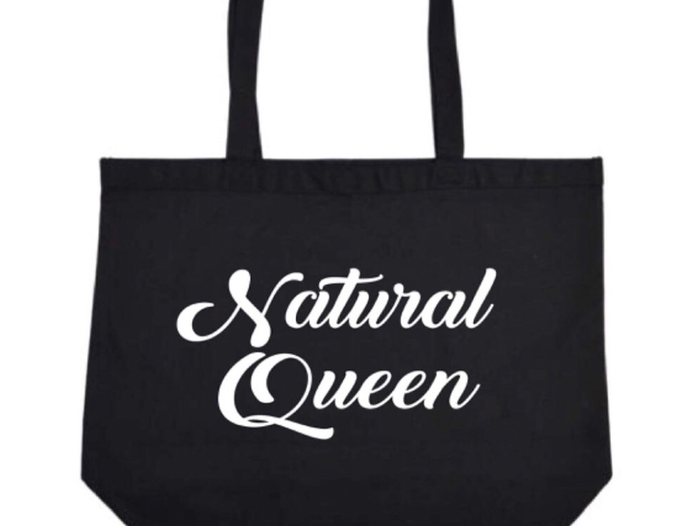Natural Queen Tote